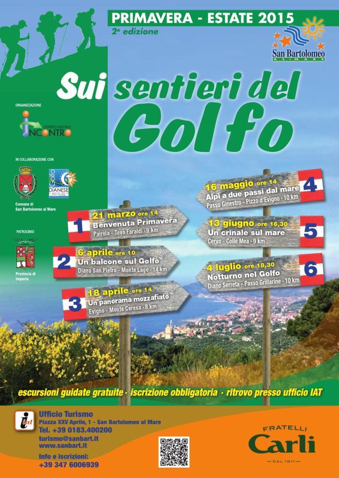 sui sentieri del golfo 2015